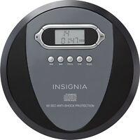 Insignia Portable CD Music Audio Player Walkman with Skip Protection CD-R CD-RW