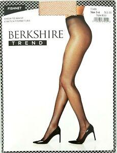 Berkshire Trend Pantyhose Hosiery Back Seam Fishnet Dot Sheer Diamonds Stockings
