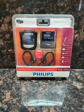 New Philips Go Gear Raga Mp3 Player 4GB Sport Pack GoGear Brand New NIP