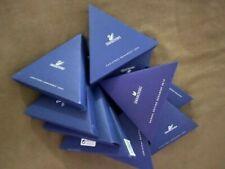 2000-2009 (TEN) SWAROVSKI XMAS ORNAMENTS PERFECT AUCTIONING YEARS 1992-2020