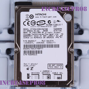 "Hitachi 80GB HTS541680J9AT00 5400 RPM IDE 8MB 2.5"" Laptop HDD Hard Disk Drive"