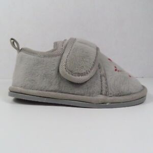 Koala Kids Gray Bedroom Shoes In Size 3/4 (Toddler)