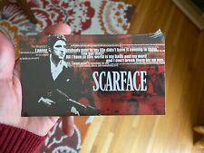 Scarface Limited Edition 10 collectible art cards