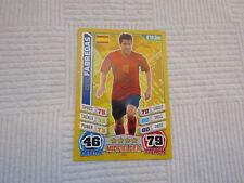 Cesc Fabregas Match Attax World Cup 2014 Trading Card
