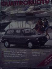 "Quattroruote 342 1984 Alfa Romeo ""6"" 2000"
