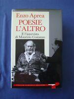ENZO APREA-POESIE-L' ALTRO-E L'INTERVISTA DI M. COSTANZO-PIRONTI 1990-PRIMA ED.