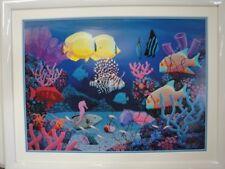 Robert McCoy Aquarium Signed Serigraph
