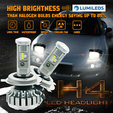 80W H4 9003 HB2 LED Headlight Hi-Low Beam Conversion Kit 6000K 8000LM FOR Holden