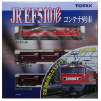 Tomix 92417 JR EF510 & Container Car 3 Cars Set - N