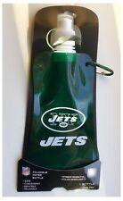 New York Jets NFL 16oz / 0.8 Pint / 450ml Foldable Reusable Water Bottle