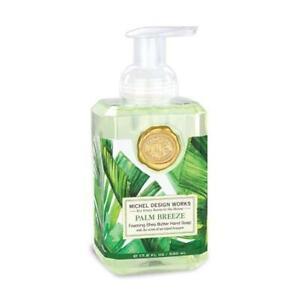 Michel Design Works Foaming Shea Butter Hand Soap 17.8 Oz. - Palm Breeze