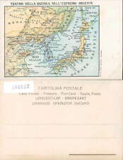 MILITARY RUSSO-JAPANESE WAR-MAPPA-MAP-O1O-L00822