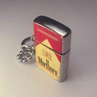 vintage lighter MINIATURE FLIP TOP MARLBORO CIGARETTES UNBRANDED