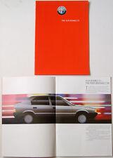 ALFA ROMEO 33 1.3S 1.5 & QUADRIFOGLIO 1986-87 ORIGINALE UK SALES BROCHURE
