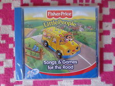 NEW Fisher Price Little People Songs & Games for The Road Music CD Kids