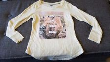 """New Girls Old Navy """"Find Joy in the Ordinary"""" Fox Shirt Size 5"""