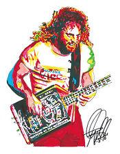Michael Anthony, Van Halen, Bass Guitar Player, Hard Rock, 8.5x11 PRINT w/COA