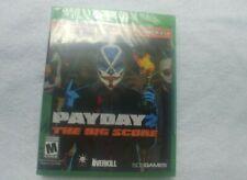 Payday 2: The Big Score (Microsoft Xbox One, 2016) NEW SEALED