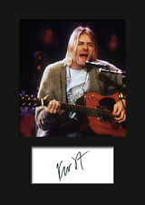 KURT COBAIN #3 Signed Photo Print A5 Mounted Photo Print - FREE DELIVERY