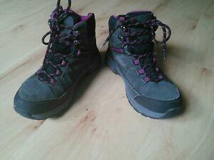 Wanderschuhe Trekkingstiefel grau pink CRANE 38 (37,5)