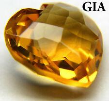 7x9mm Genuine Golden Citrine Natural Yellow Quartz Oval Gemstone 1.75 Carat