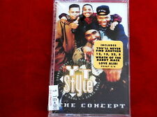 Y.T. STYLE~ THE CONCEPT~ SEALED~ NEW~ NOT USED~ RARE~ GREAT ~ SOUL CASSETTE
