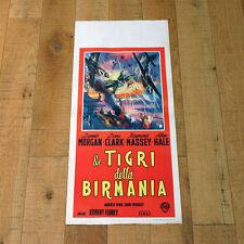 LE TIGRI DELLA BIRMANIA locandina poster God is my Co-Pilot Florey War S10