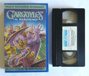 Vhs Ita Animazione Gargoyles Il Ritorno Buena Vista Cartoni Animati no dvd(V164)