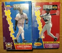 1997 UPPER DECK COLLECTOR'S CHOICE BASEBALL SERIES 1 + 2 FACTORY SEALED BOX LOT