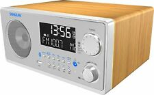 New Sangean Bluetooth Shelf Stereo AM/FM Speaker RDS System USB AUX Alarm Remote