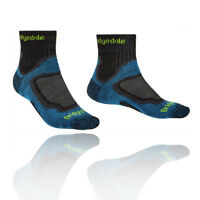 Bridgedale Mens TRAIL Socks Lightweight T2 3/4 Crew Merino Cool Comfort Blue