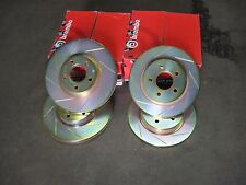 Genuine Brembo Performance Slotted Rotors Volvo P1 C30 S40N, V50 Car set of 4