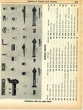 1957 Print Ad of Marlin Front, Peep & Rear Rifle Sights