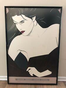 "Patrick Nagel Poster The Playboy Portfolio II 1989 Print 24x36"" Print Only"