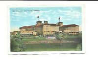 Vintage Postcard California The Ambassador Hotel  Los Angeles 1928 Hand Colored