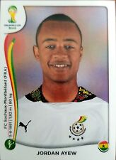 2014 Panini World Cup Stickers Soccer Jordan Ayew #543