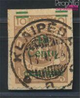 Memelgebiet 206 geprüft gestempelt 1923 Aushilfsausgabe (8984783