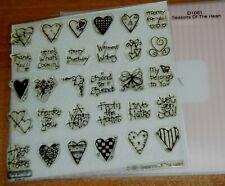 CTMH D1061 SEASON'S OF THE HEART ~ Love Notes, Hugs & Kisses, Friend to Friend