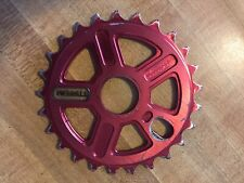 25t Merritt Bmx Sprocket S&M Merritt T1 Fbm Subrosa Red Anodized Light