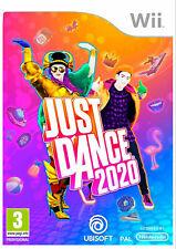 Just Dance 2020 Nintendo Wii PAL Reino Unido ** ** Perfecto Estado!!!