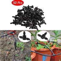 Lot Dripper Plant Watering Garden Tee Joint Hose Drip Irrigation Connector