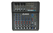 Alesis MultiMix 8 USB FX - 8-Channel Mixer with Effects - Multi-Track Recording