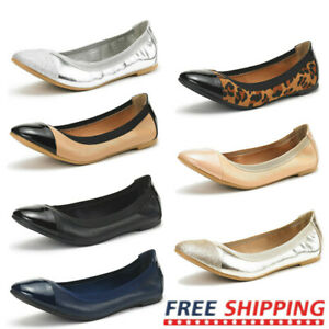 Women's Ballerina Ballet Flats Lady Casual Slip On Dress Flat Shoes