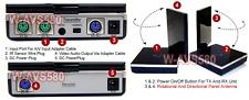 Long Range Wireless 5.8Ghz Video Audio Transmitter + IR Extender - Max 600FT