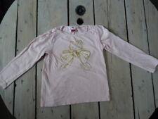 T-shirt manches longues rose clair imprimé HELLO KITTY doré Taille 5 ans
