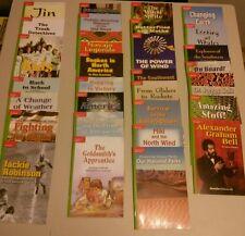 Grade 4 McGraw Hill Set of 30 Leveled Readers,Treasures,Green  Back,(Homeschool)