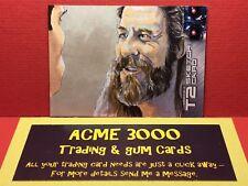 Unstoppable - Terminator 2 T2 - B JONES - Sketch Card - CIGAR BIKER
