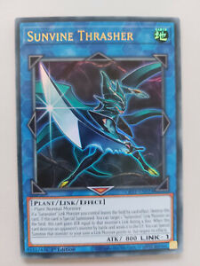 YUGIOH TCG Ghost of the Past - Sunvine Thrasher GFTP-EN024