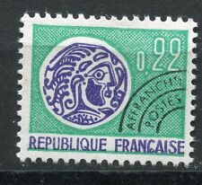 FRANCE TIMBRE   PREOBLITERE   N° 125  OBL   TYPE MONNAIE GAULOISE
