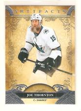 JOE THORNTON 2020-21 UD ARTIFACTS BASE CARD #65 SHARKS